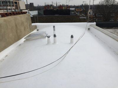 Expert Flat Roofing - Asphalt Barrel Roof