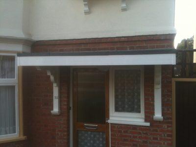 Expert Flat Roofing - Felt Porch