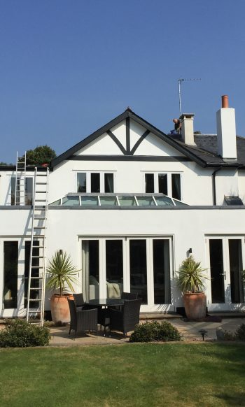 Expert Flat Roofing - Asphalt Rear Extension & Loft Conversion