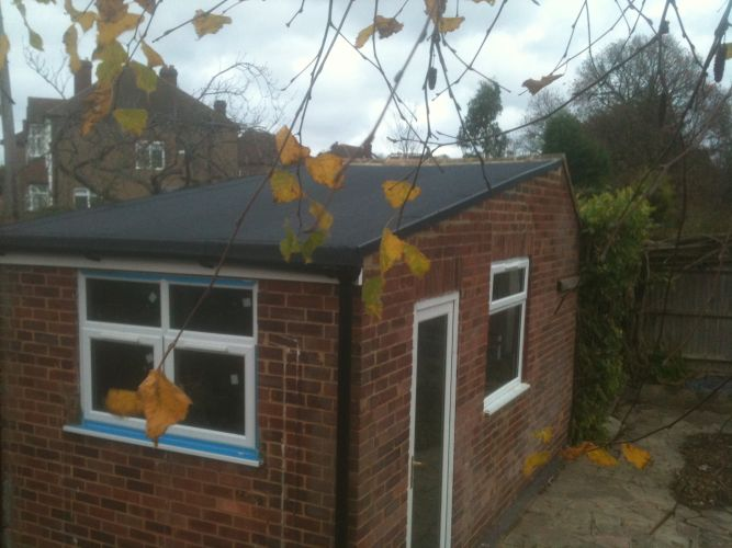 Expert Flat Roofing - Felt Garage Roof
